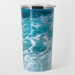 Ocean Waves in Hawaii Travel Mug