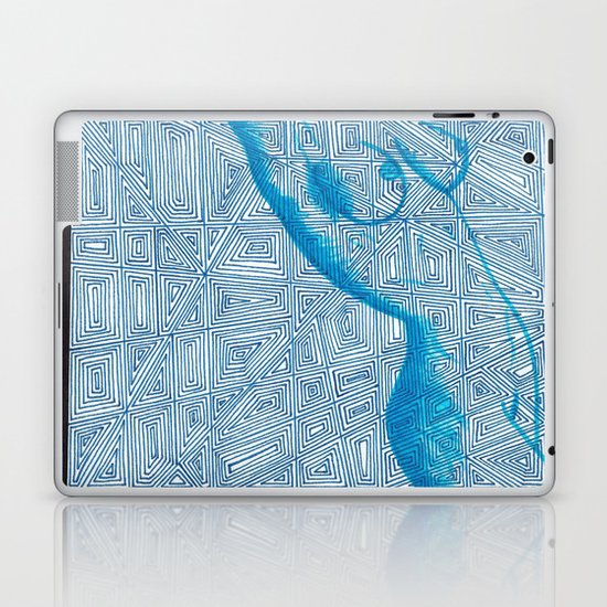 Nude Shapes Laptop & iPad Skin