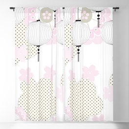 Chinese pattern Blackout Curtain