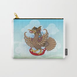 'Jatayu' or Eagle on the story of the Ramayana Carry-All Pouch