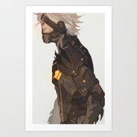 Raiden Art Print