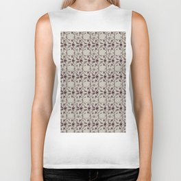 Mirrored Blackberry spray Biker Tank
