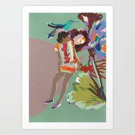 Maria de las Flores Art Print
