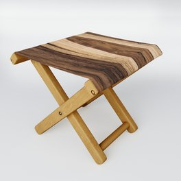 Sheesham Wood Grain Texture, Close Up Folding Stool