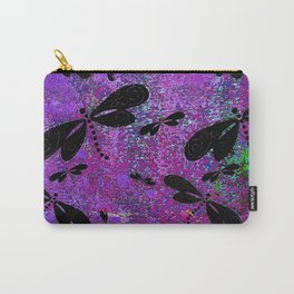 DragonFly Purple Carry-All Pouch