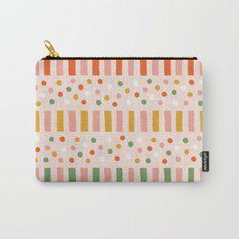 Ruby Stripe Carry-All Pouch