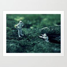trooper hike Art Print