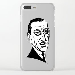 Igor Stravinsky Clear iPhone Case