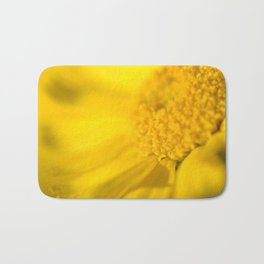 yellow yellow Bath Mat