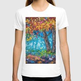 SUNRISE TREE (Palette Knife) T-shirt