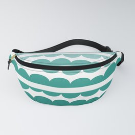 Mordidas Gradient Green Fanny Pack