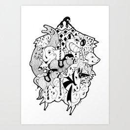 CIRCUS_2 Art Print