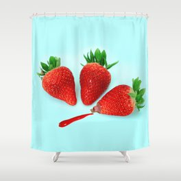 Natural color Shower Curtain