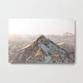 Alps Peak Metal Print