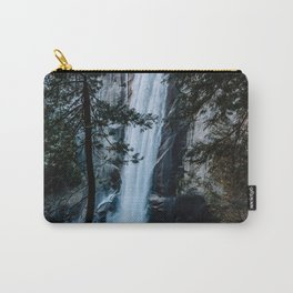 Vernal Falls from the Mist Trail - Yosemite Carry-All Pouch