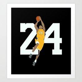 Legend 24 Art Print