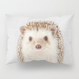 Hedgehog - Colorful Pillow Sham