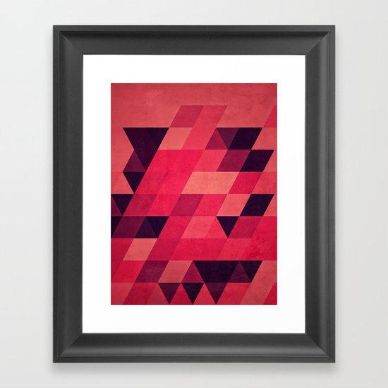 pynk Framed Art Print