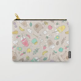 Bears and smoothie Carry-All Pouch