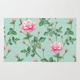 apple rose Rug