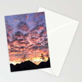 Sunset Over Marietta Stationery Cards