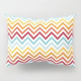 Rainbow Chevron #2 Pillow Sham