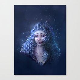 Crystal Contamination 3 Canvas Print