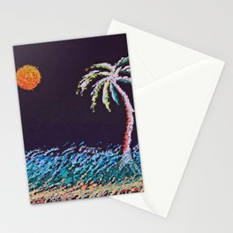"""Ghost Palms of Kauai #8"" Painting Stationery Cards"