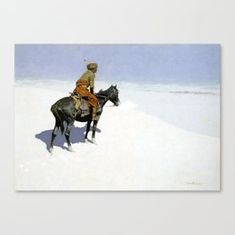 """Frederic Remington Western Art """"The Scout"""" Canvas Print"""