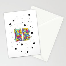 Letter B Stationery Cards