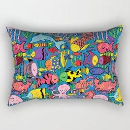 Fishy Fishy Rectangular Pillow