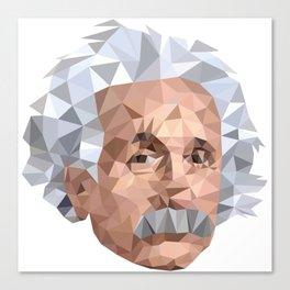 Mentor me Einstein Canvas Print