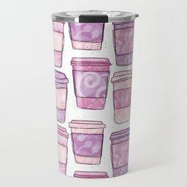 Coffee Cups   Purple Palette Travel Mug