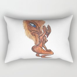 Land Taniwha Rectangular Pillow