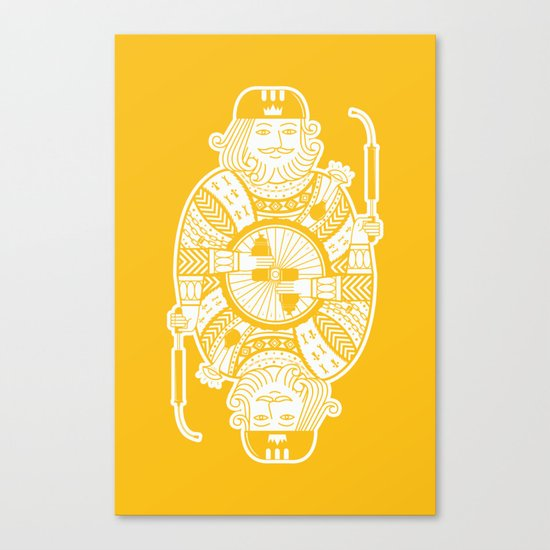 King of the road Canvas Print