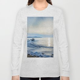 Frozen wharf and Halo Long Sleeve T-shirt
