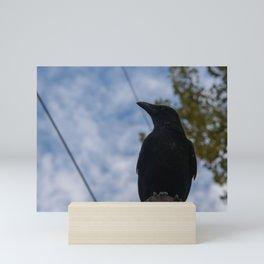 The crow Mini Art Print