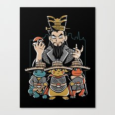Big Trouble in Little Kanto  Canvas Print