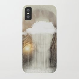 Raining Tears iPhone Case