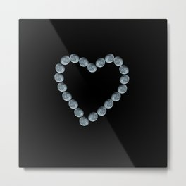 I Heart the Moon Metal Print