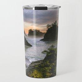 Secret Beach Along The Oregon Coast Travel Mug