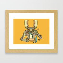 Sushi Droid Ver. 2 Framed Art Print