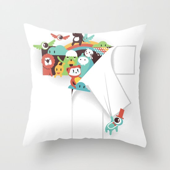 There is a T in the Team (but no I) Throw Pillow