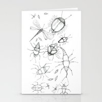 insects Stationery Cards featuring Insects by Amelia Dray Illustration
