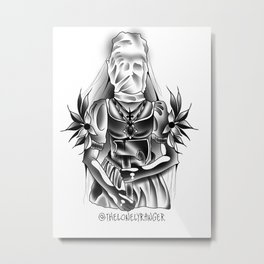 Kill me slow Metal Print