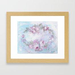 Crown Rose Framed Art Print