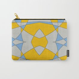 Abstract Retro Colored Butterfly Carry-All Pouch