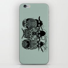 Owls of the Nile iPhone Skin