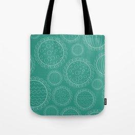 Dainty Sweets Pattern Print Tote Bag