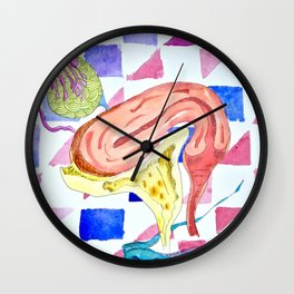 Green Eggs and Ham Wall Clock